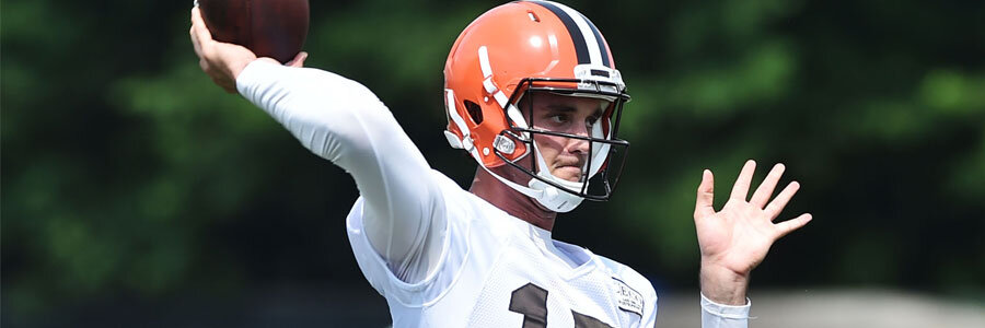 The Cleveland Browns are underdogs in the NFL odds for this season.