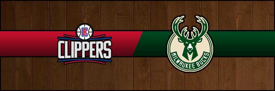 Clippers vs Bucks Result Basketball Score