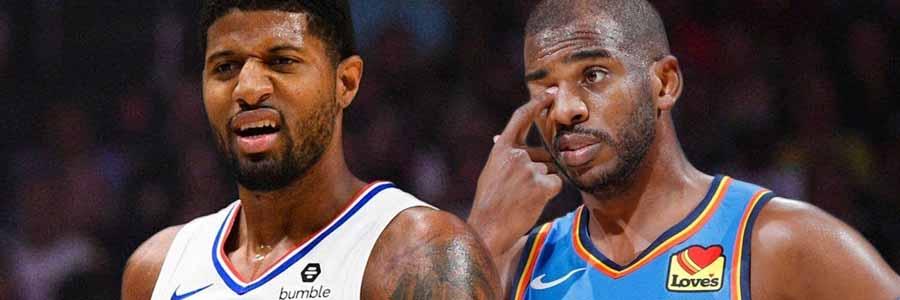 Clippers vs Thunder NBA Odds & TV Info