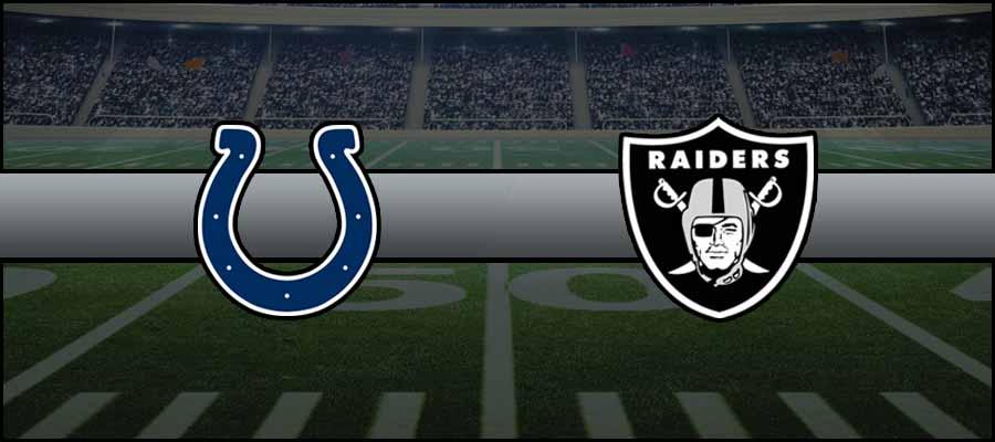 Colts vs Raiders Result NFL Score