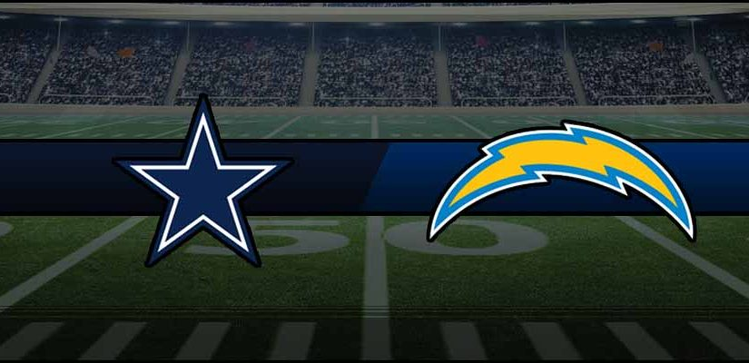 Cowboys vs Chargers Result NFL Score