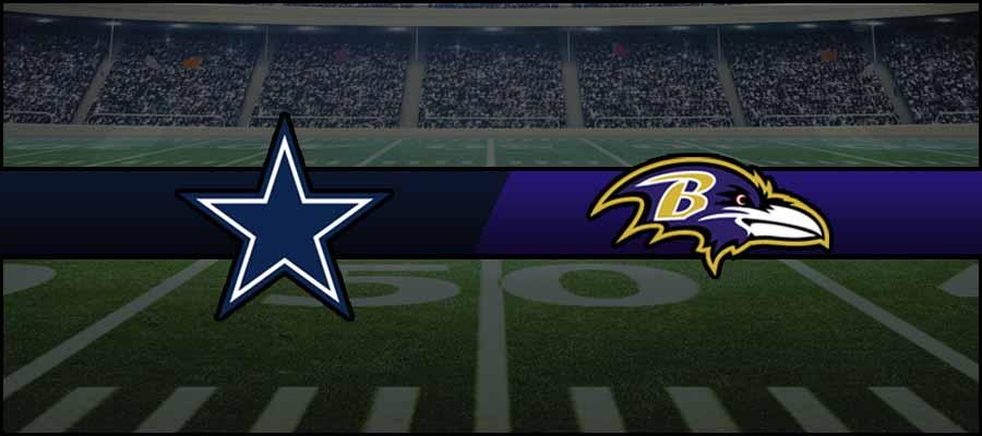 Cowboys vs Ravens Result NFL Score