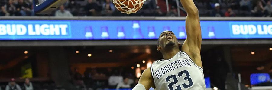 Creighton at Georgetown Lines, Expert Pick & TV Info