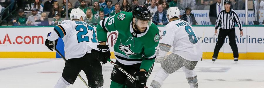 Stars vs Sharks NHL Odds & Expert Betting Analysis