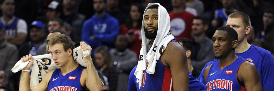 Pistons at Bucks NBA Betting Pick & Game Info