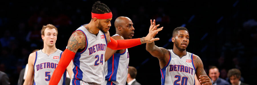 Are the Pistons a safe bet on Friday?