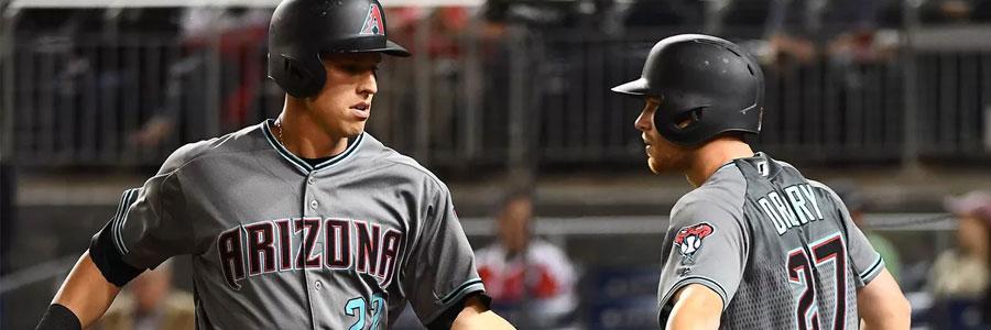 Arizona is Slight MLB Betting Favorite Against Detroit on Tuesday Night