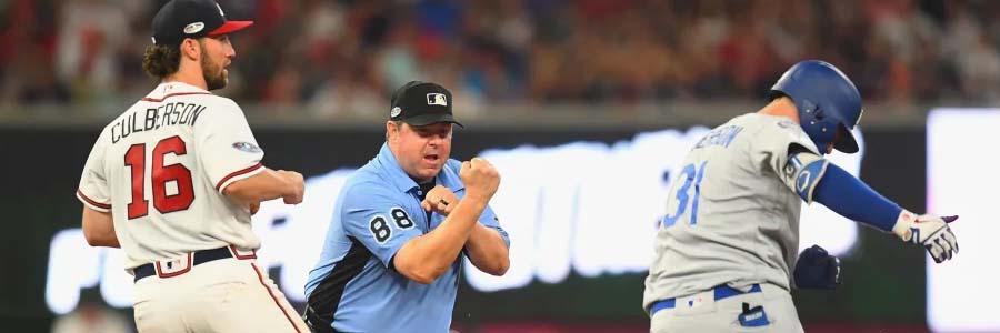 Dodgers vs Braves NLDS Game 3 Odds, Prediction & Pick