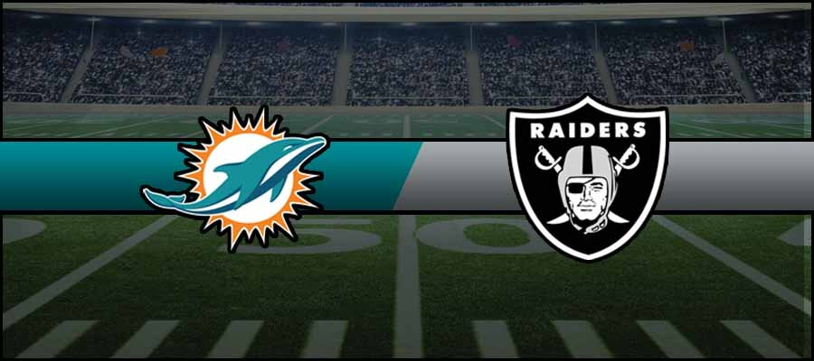 Dolphins vs Raiders Result NFL Score