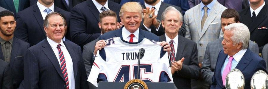 Donald Trump Super Bowl LIII Props