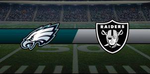 Eagles vs Raiders Result NFL Score