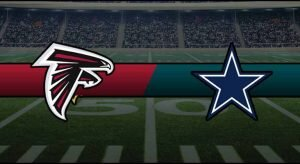 Falcons vs Cowboys Result NFL Score