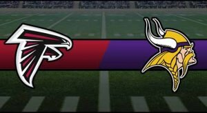 Falcons vs Vikings Result NFL Score