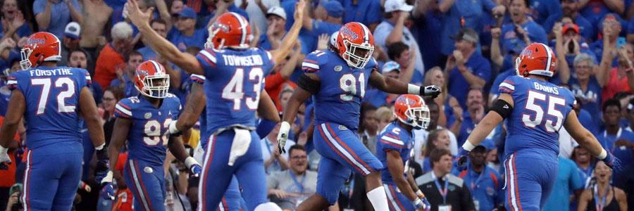 Florida vs Vanderbilt NCAA Football Week 7 Lines & Prediction