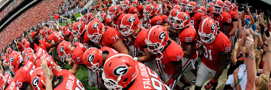 Georgia is NCAAF Lines Favorites vs. Tennessee in Week 5