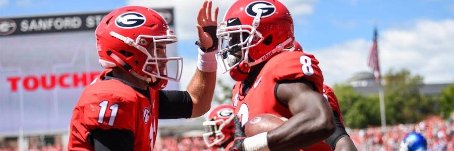 Georgia at Missouri 2018 NCAA Football Week 4 Lines