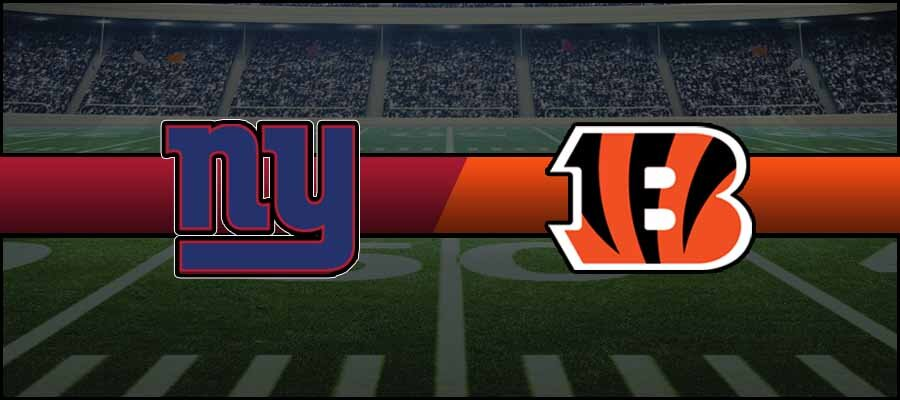 Giants vs Bengals Result NFL Score