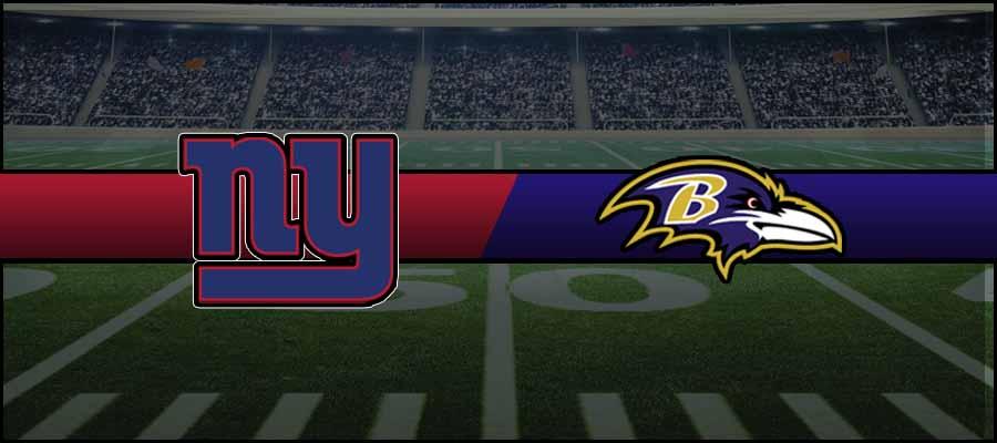 Giants vs Ravens Result NFL Score