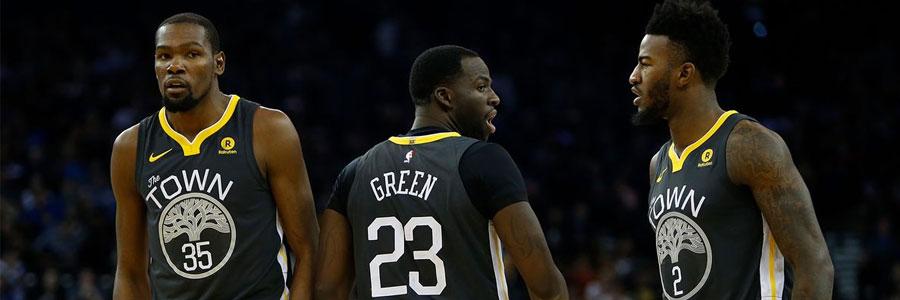 Warriors at Rockets NBA Odds, Pick & Betting Analysis
