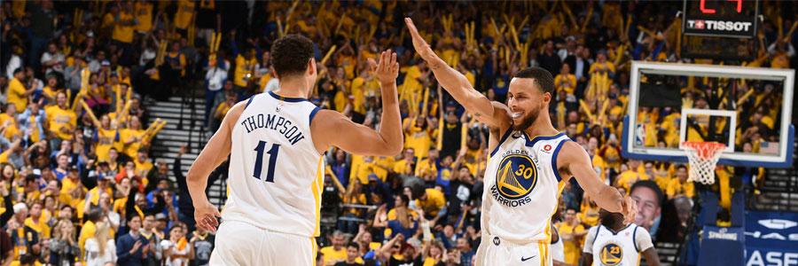 Warriors at Rockets Game 1 NBA Odds & Playoffs Pick