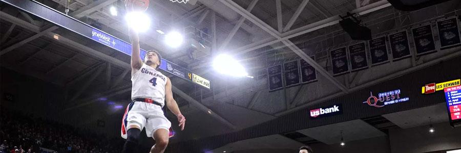 Gonzaga vs Portland 2020 College Basketball Spread & Game Info