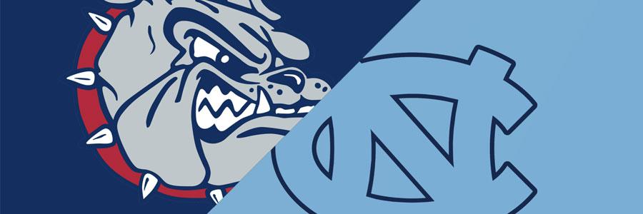 Gonzaga vs North Carolina 2017 National Championship Odds, Preview & Pick