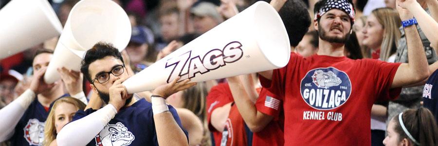 Gonzaga at San Diego Spread, Free Pick & TV Info