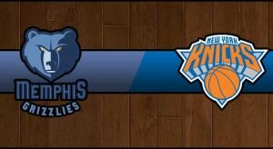 Grizzlies vs Knicks Result Basketball Score