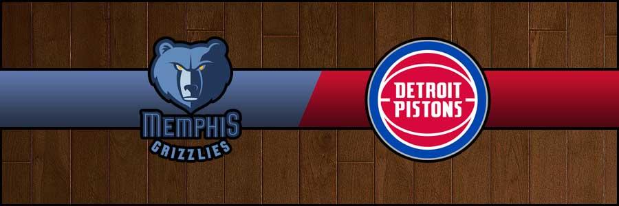 Grizzlies vs Pistons Result Basketball Score