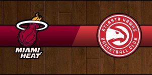 Heat @ Hawks Result Basketball Score