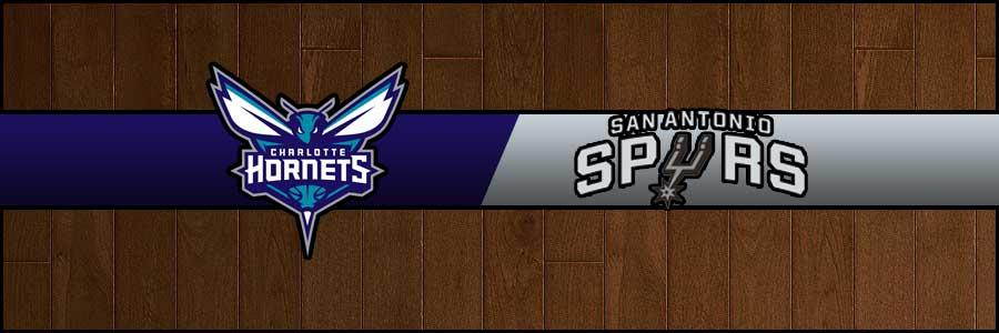 Hornets vs Spurs Result Basketball Score