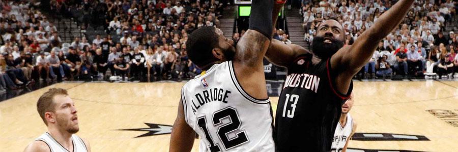 Houston at San Antonio NBA Playoffs Odds & Game 5 Preview
