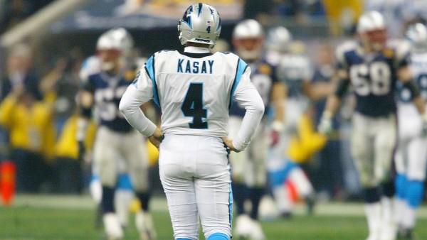 Carolina Panthers John Kasay's kick