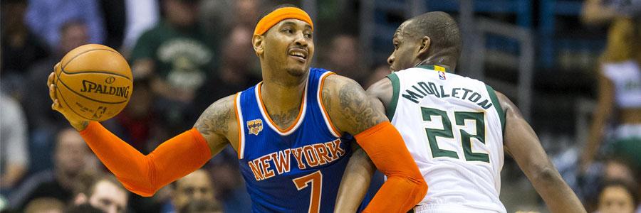 Indiana at NY Knicks Lines, Free Pick & TV Info