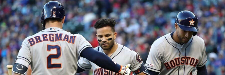 Astros Look to Send Early Message Against Visiting Indians