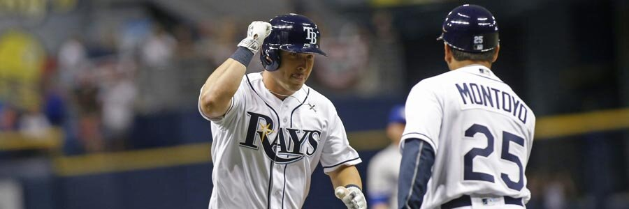 Cleveland Indians at Tampa Bay Rays MLB Lines Report