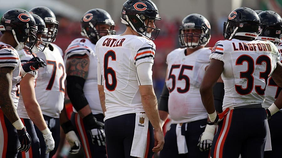 jay-cutler-and-the-chicago-bears