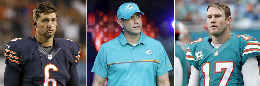 The Miami Dolphins picked Jay Cutler to replace Ryan Tannehill this NFL season.