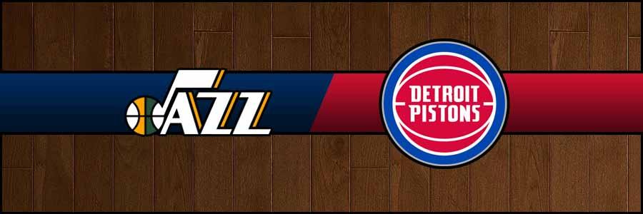Jazz vs Pistons Result Basketball Score