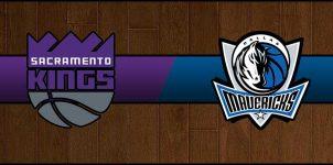 Kings vs Mavericks Result Basketball Score