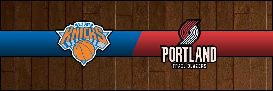 Knicks vs Blazers Result Basketball Score