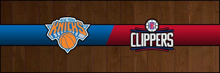 Knicks vs Clippers Result Basketball Score