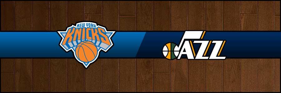 Knicks vs Jazz Result Basketball Score