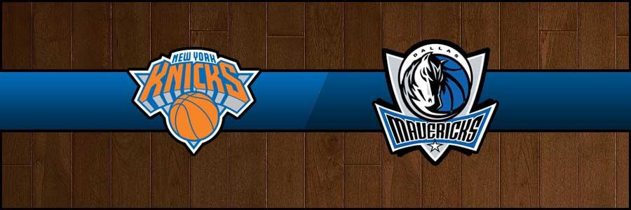 Knicks vs Mavericks Result Basketball Score
