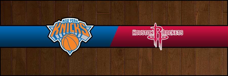 Knicks vs Rockets Result Basketball Score