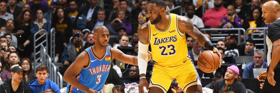 Wizards vs Lakers 2019 NBA Odds, Analysis & Prediction