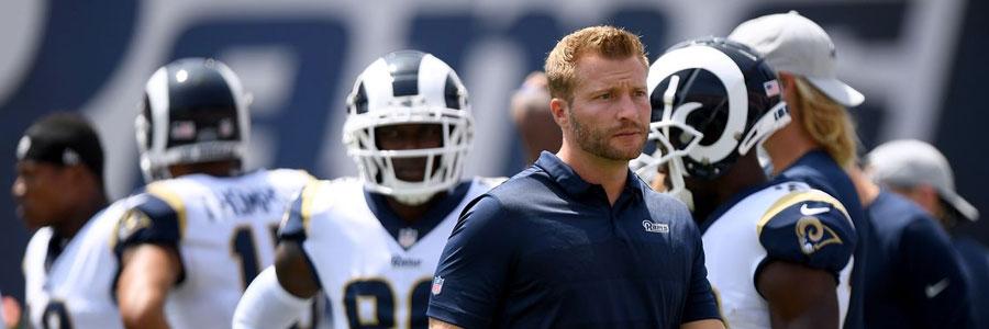 Rams at Raiders MNF Week 1 Lines & Betting Pick