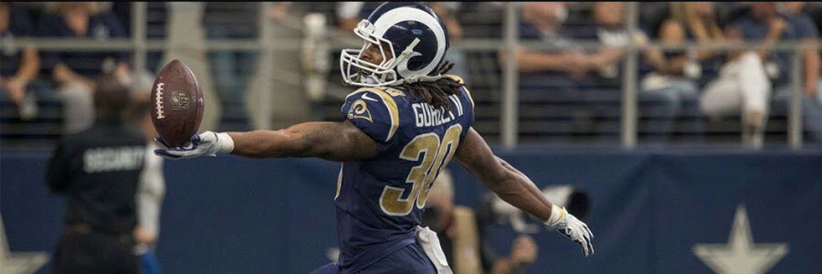 The Rams are back in the playoffs and they come in as the NFL Betting Lines favorite against the Falcons.