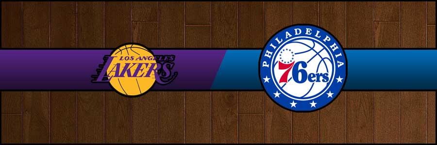 Lakers vs 76ers Result Basketball Score