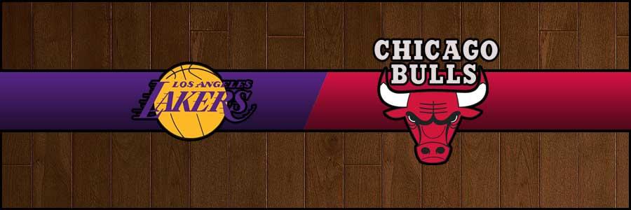 Lakers vs Bulls Result Tuesday Basketball Score